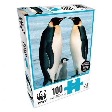 Puslespill 100 Penguins WWF