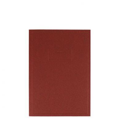 Notatbok Linjert Rød Aow A6