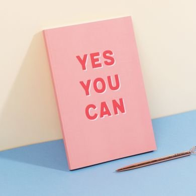 Notatbok A5 Mag Yes You Can