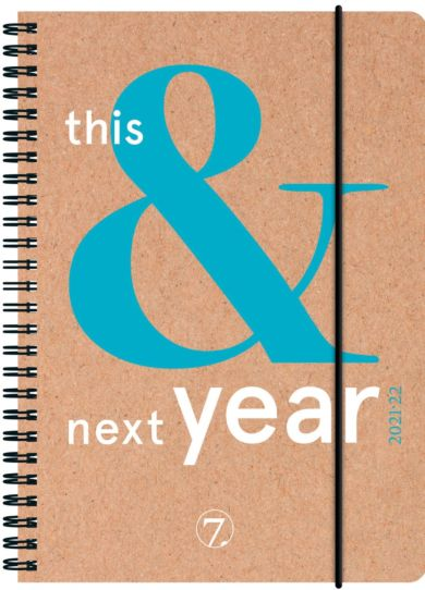 7.sans Kalender 21/22 Ukeplan This&Next A5