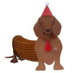 Julekort PC Sausage Dog