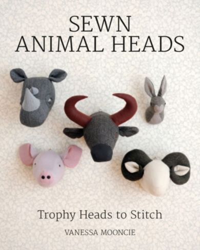 Sewn Animal Heads