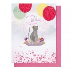 Systemkort PC Cat Dreamy Birthday Wishes