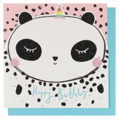 Systemkort Pc Die Cut Panda Happy Bday