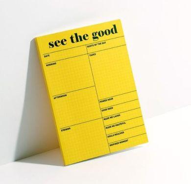 Bordblokk CL See The Good Desk Pad