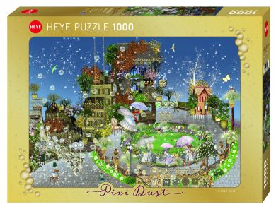 Puslespill 1000 Fairy Park Heye