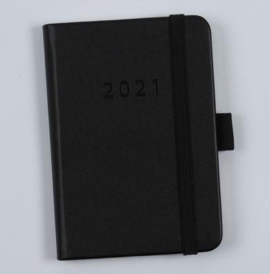 Kalender 2021 Agenzio Black B7 Uke