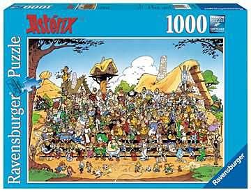 Puslespill 1000 Familie Asterix Ravensburger