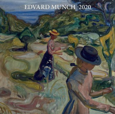 Kalender 2020 Baccara 30x30 Munch