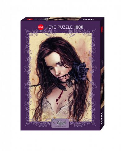 Puslespill 1000 Dark Rose Heye