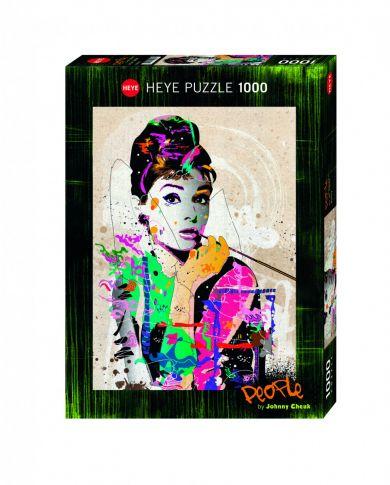 Puslespill 1000 Audrey Heye
