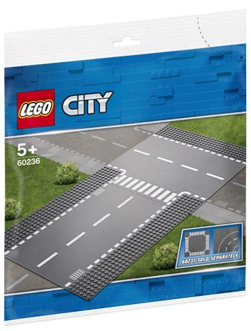 Lego Rette Elementer Og T-Kryss 60236