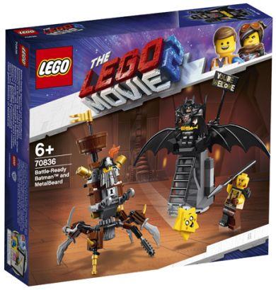 Lego Kampklare Batman Og Knivskjegg 70836