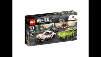 Lego Porsche 911 Rsr Og 911 Turbo 3.0 75888