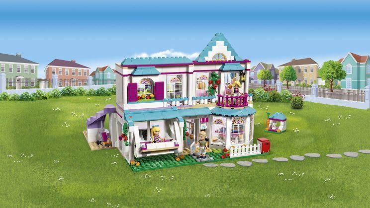 Rørig Lego Stephanies Hus 41314 NS-16