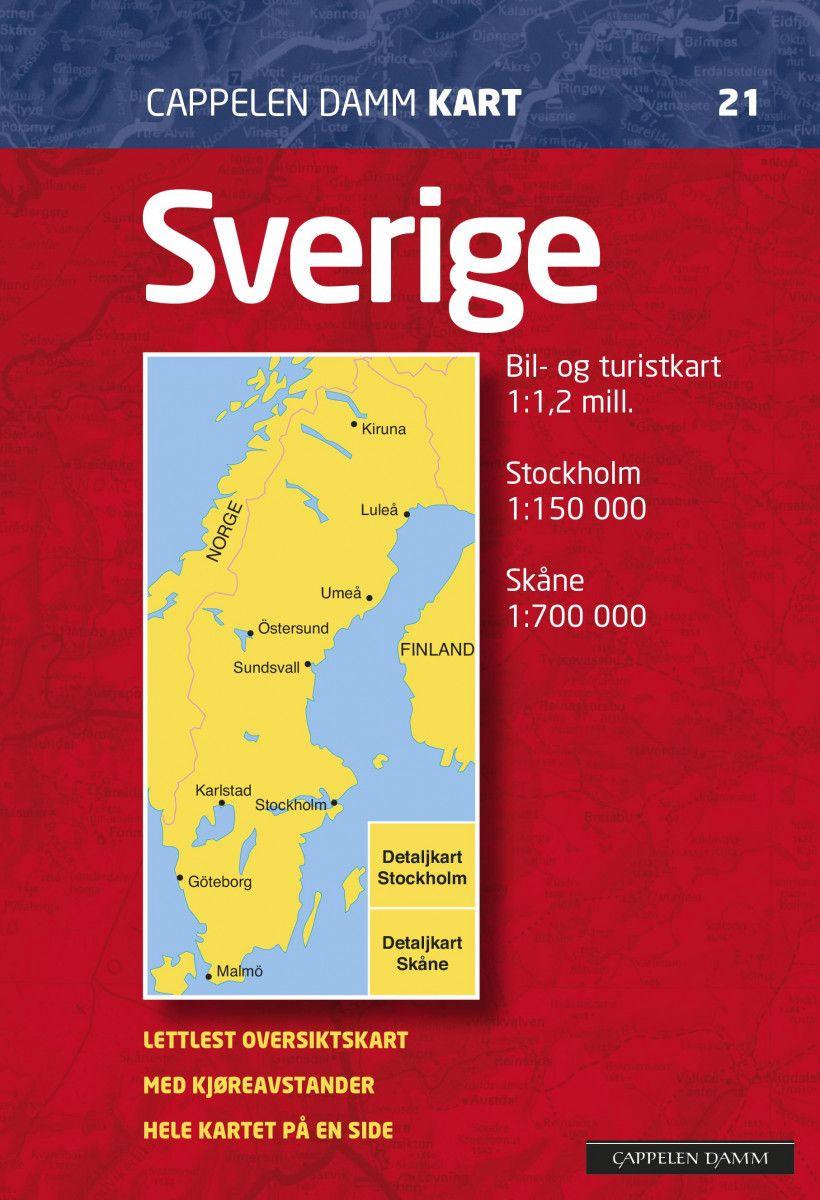 Sverige Av Falset Norli No