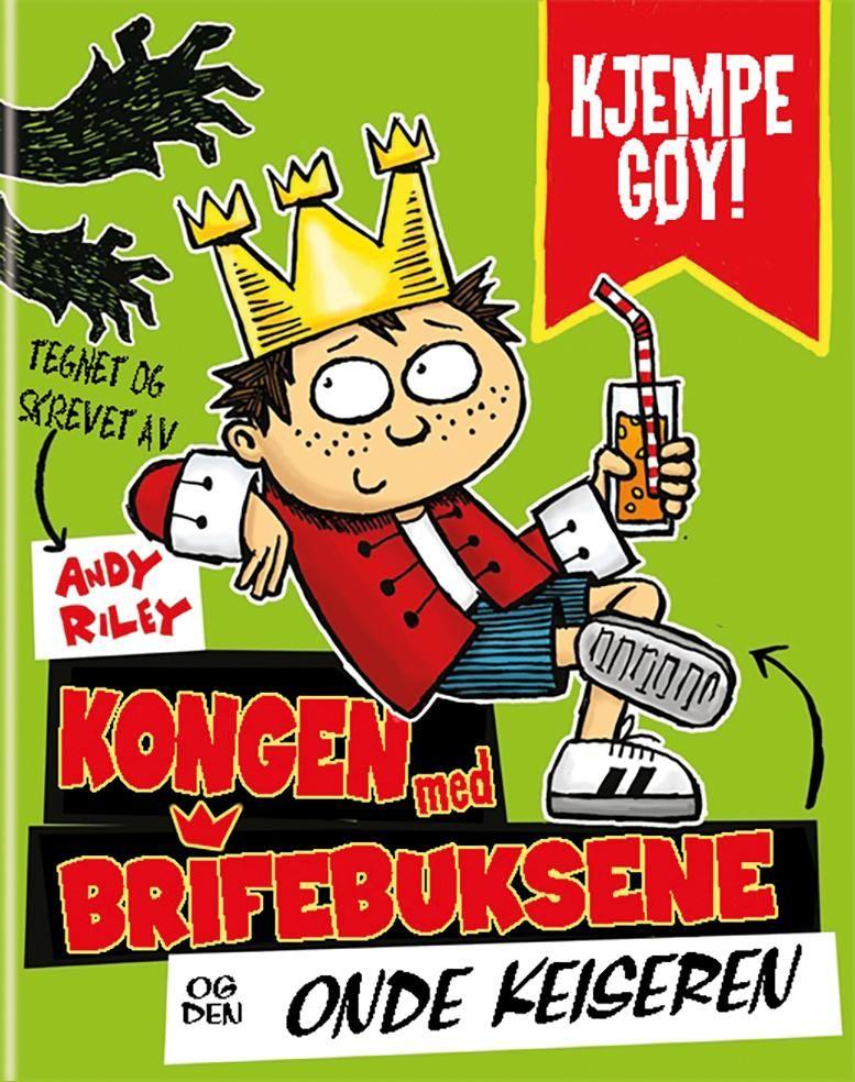 2c8c42fd Kong Kortbukse og den onde keiseren av Andy Riley | Innbundet | Norli.no
