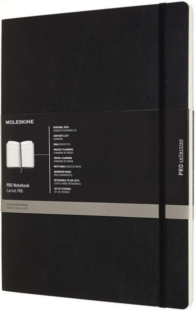 Moleskine Pro Xl Hard Black