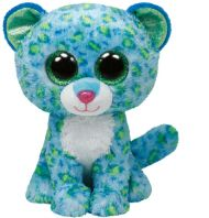 Bamse Ty Blue Leopard Medium