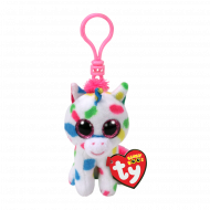 Bamse TY Harmonie Speckled Unicorn Clip
