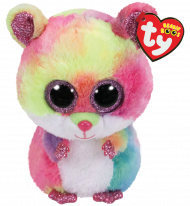Bamse TY Rodney Multicolored Hamster Regular