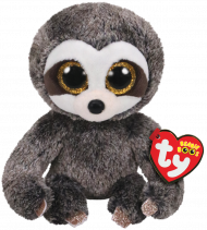 Bamse TY Dangler Grey Sloth Regular