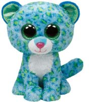 Bamse Ty Blue Leopard Regular