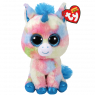 Bamse TY Blitz Blue Unicorn Regular