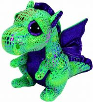 Bamse TY Cinder Green Dragon Med