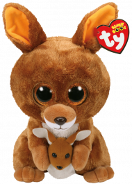 Bamse TY Kipper Brown Kangaroo Medium