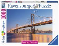 Puslespill 1000 San Fransisco Ravensburger