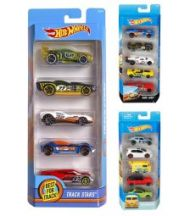 Leke Hot Wheels Basic Bil 5Pk