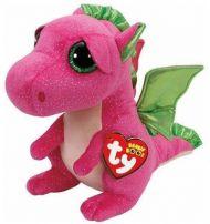 Bamse TY Darla Pink Dragon Reg