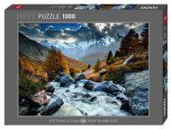 Puslespill 1000 Mountain Stream Heye