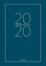 Dagbok Grieg Libra Colore 2020 blå