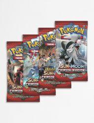 Pokemon Samlekort Sun & Moon 4 Booster