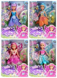 Leke Sparkle Girlz Floral Fairy Dukke