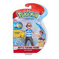 Leke Pokemon Battle Feature Figure Pikachu (11Cm)