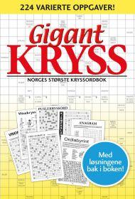 Gigantkryss 1. Norges største kryssordbok. 220 var