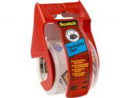 Pakketape Scotch 50mmx20m med disp. klar