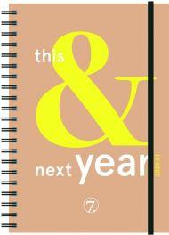 Kalender 7.sans Ukeplan This&Next A5 20/21