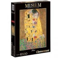 Puslespill 1000 Klimt The Kiss Clementoni