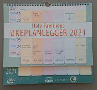 Kalender Ukeplanlegger 2021