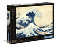 Puslespill 1000 Hoksau The Great Wave Clementoni