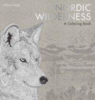 Nordic wilderness. A colouring book