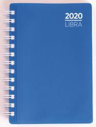 Dagbok Grieg Libra plast 2020 blå