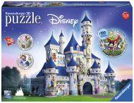 Puslespill 216 3D Disney Castle  Ravensburger
