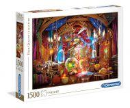 Puslespill 1500 Wizard Work Clementoni