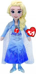 Bamse TY Frozen 2 Elsa M/ Lyd Medium