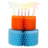 Systemkort 3D Honeycomb Bday Cake